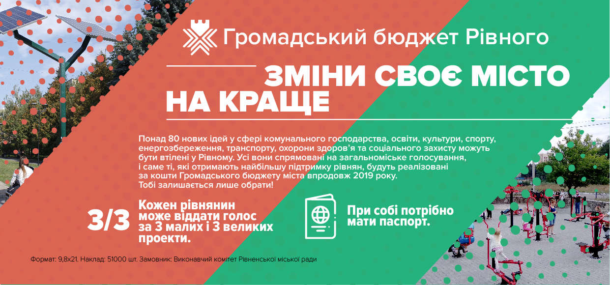 З 17 вересня розпочинається голосування за проекти громадського ... 087bf77b34b55